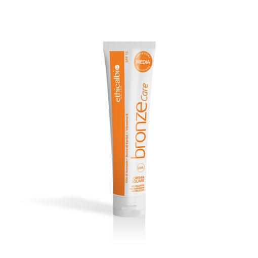 Ethicalbeauty crema solare 7011 MEDIA protezione