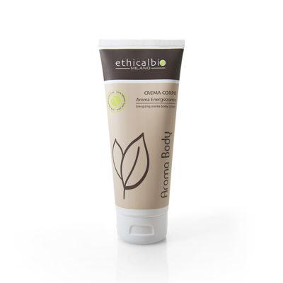 AROMA BODY 901 crema corpo aroma energizzante ethicalbio cosmetici professionali