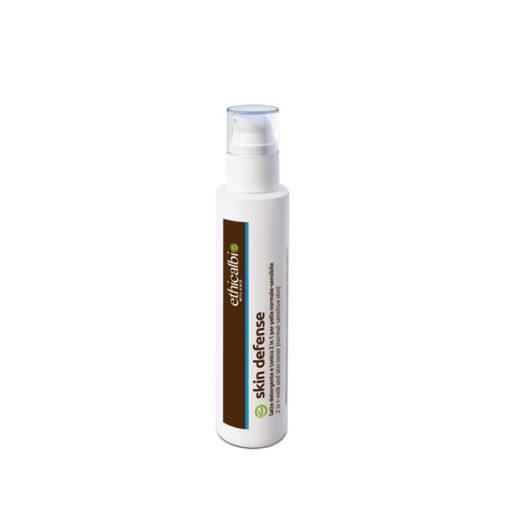 Skin Defense 2100 Latte detergente e tonico-due in uno per pelle sensibile e couperosica 200 ml
